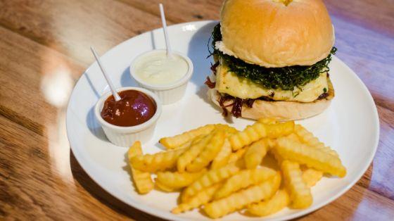 Hamburger twist