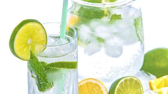 Cocktail lemon