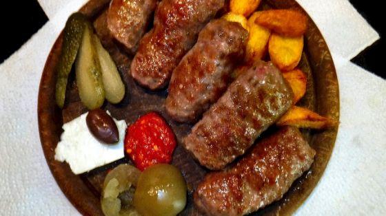 Salamine con verdure e patate