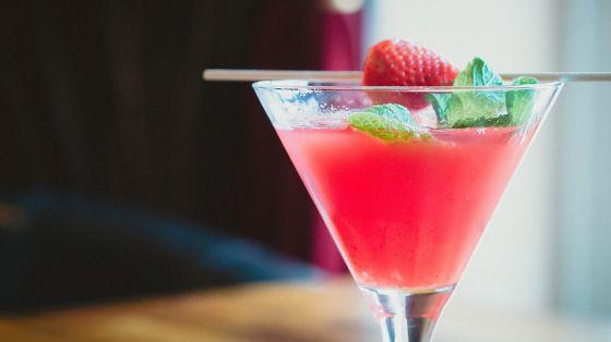 Cocktail Drink Fragola