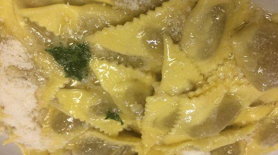 Casoncelli alla bresciana al burro versato